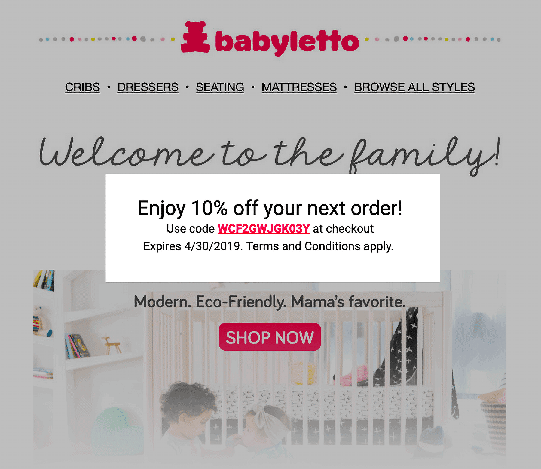 Babyletto – Offer