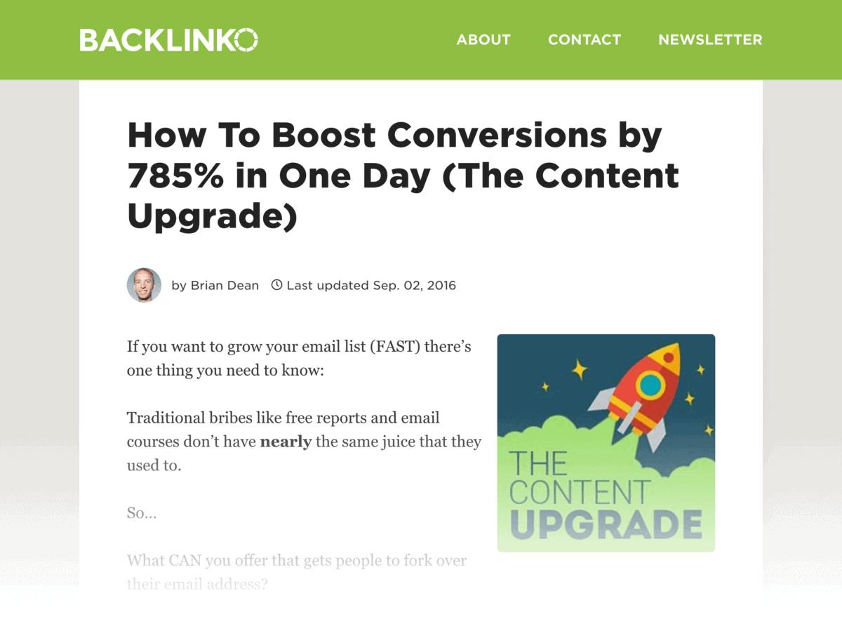 Boost Conversions post