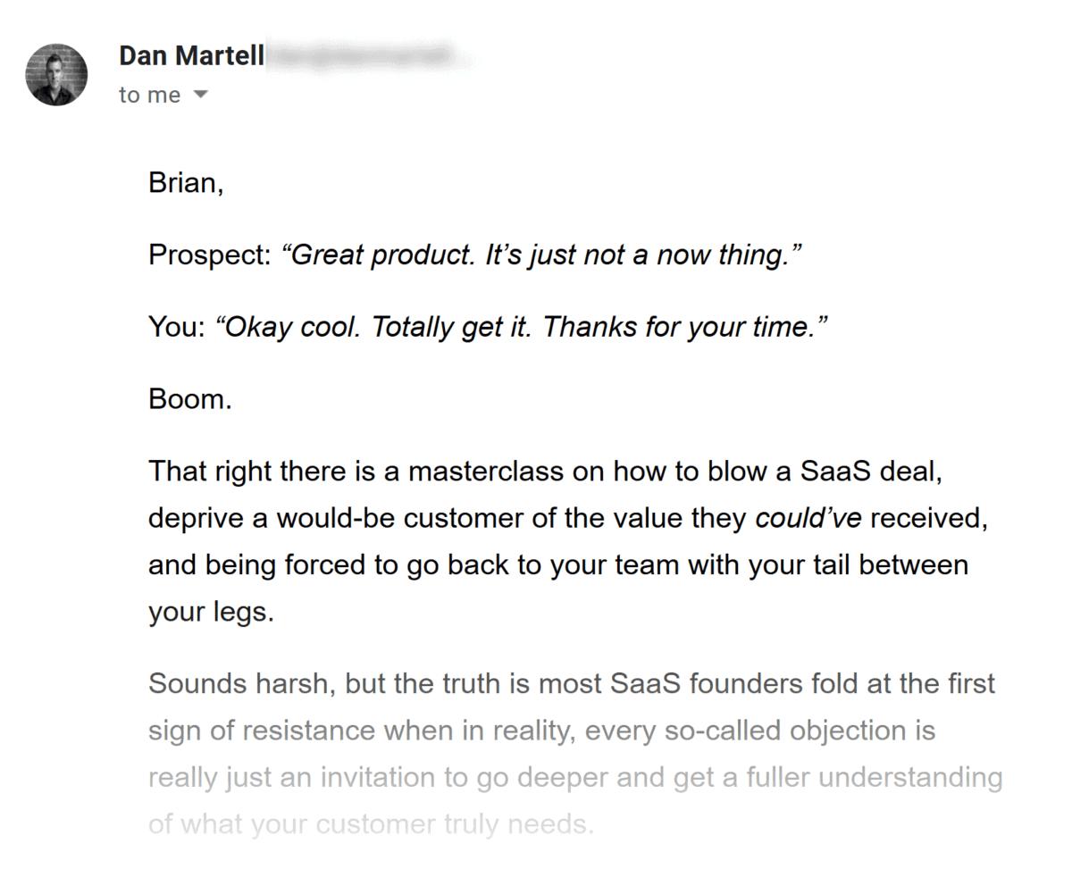 Dan Martell – Email