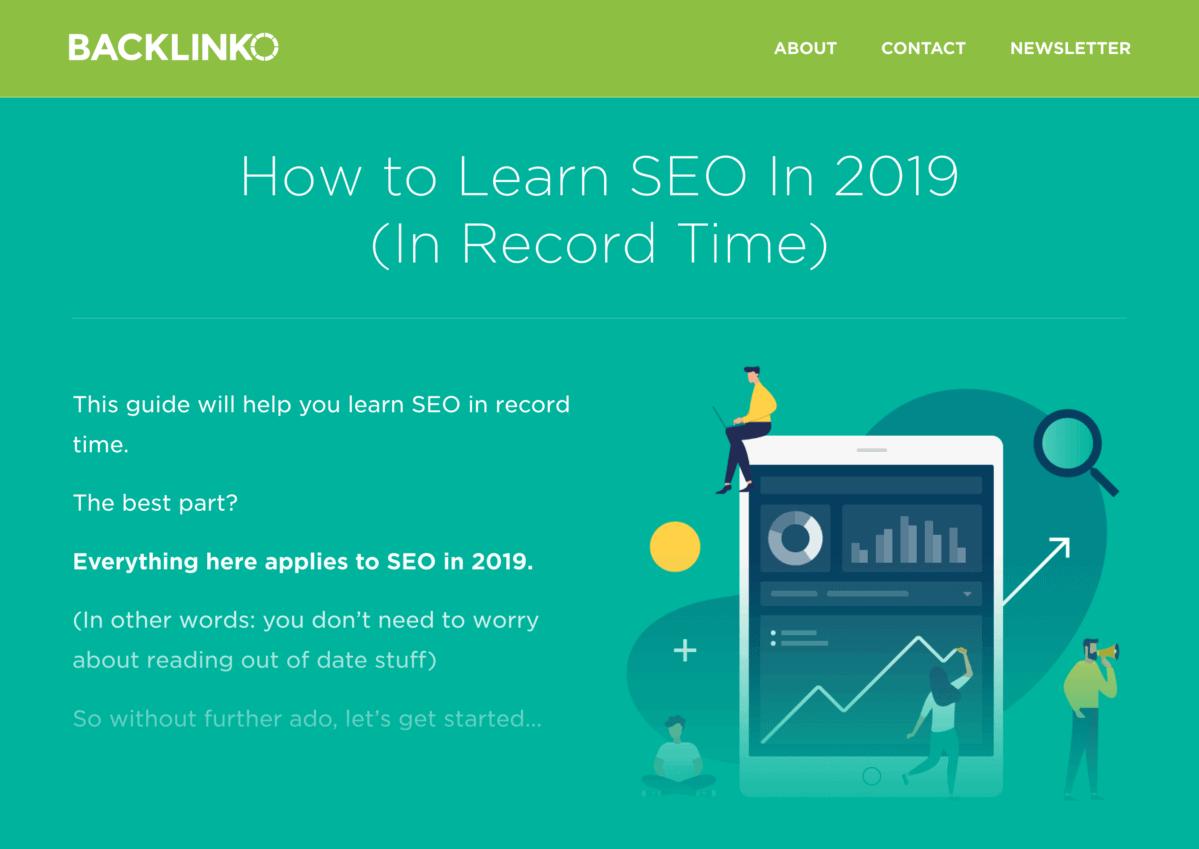 Learn SEO 2019