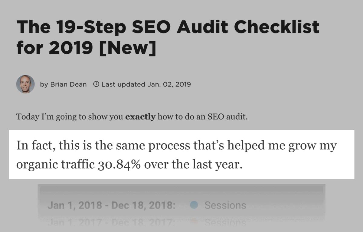SEO Audit – Process