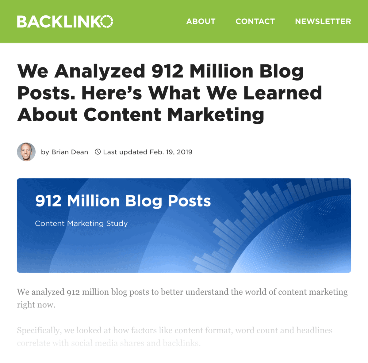 Backlinko and BuzzSumo – Why things go viral
