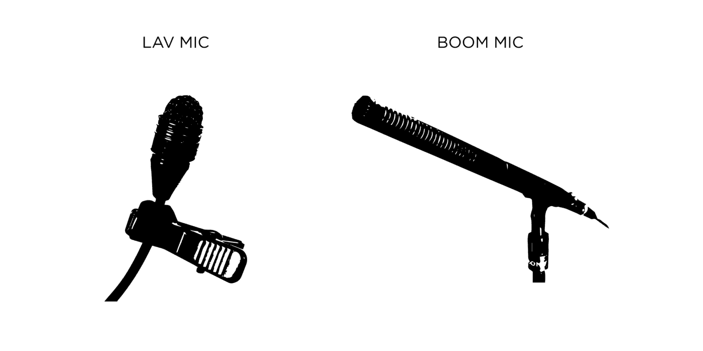 Lav .vs. Boom mic