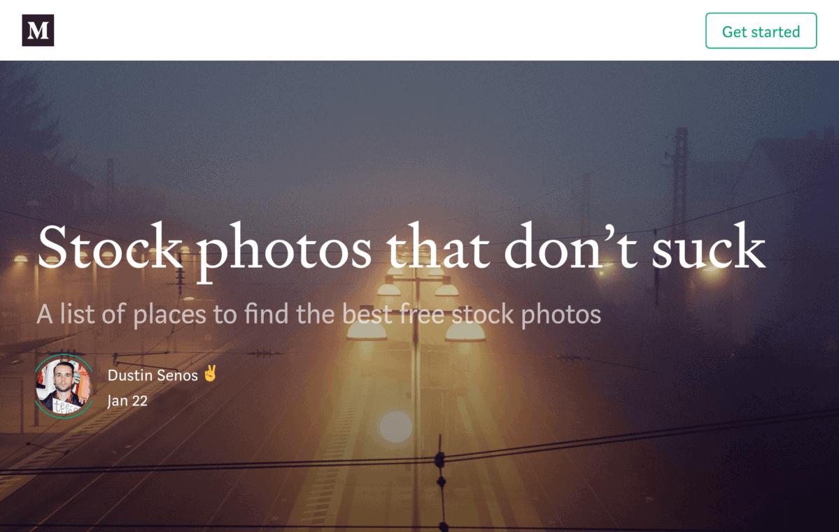 Stock photos that don't suck