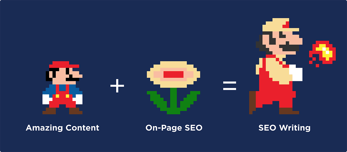 Amazing Content + On-Page SEO = SEO Writing