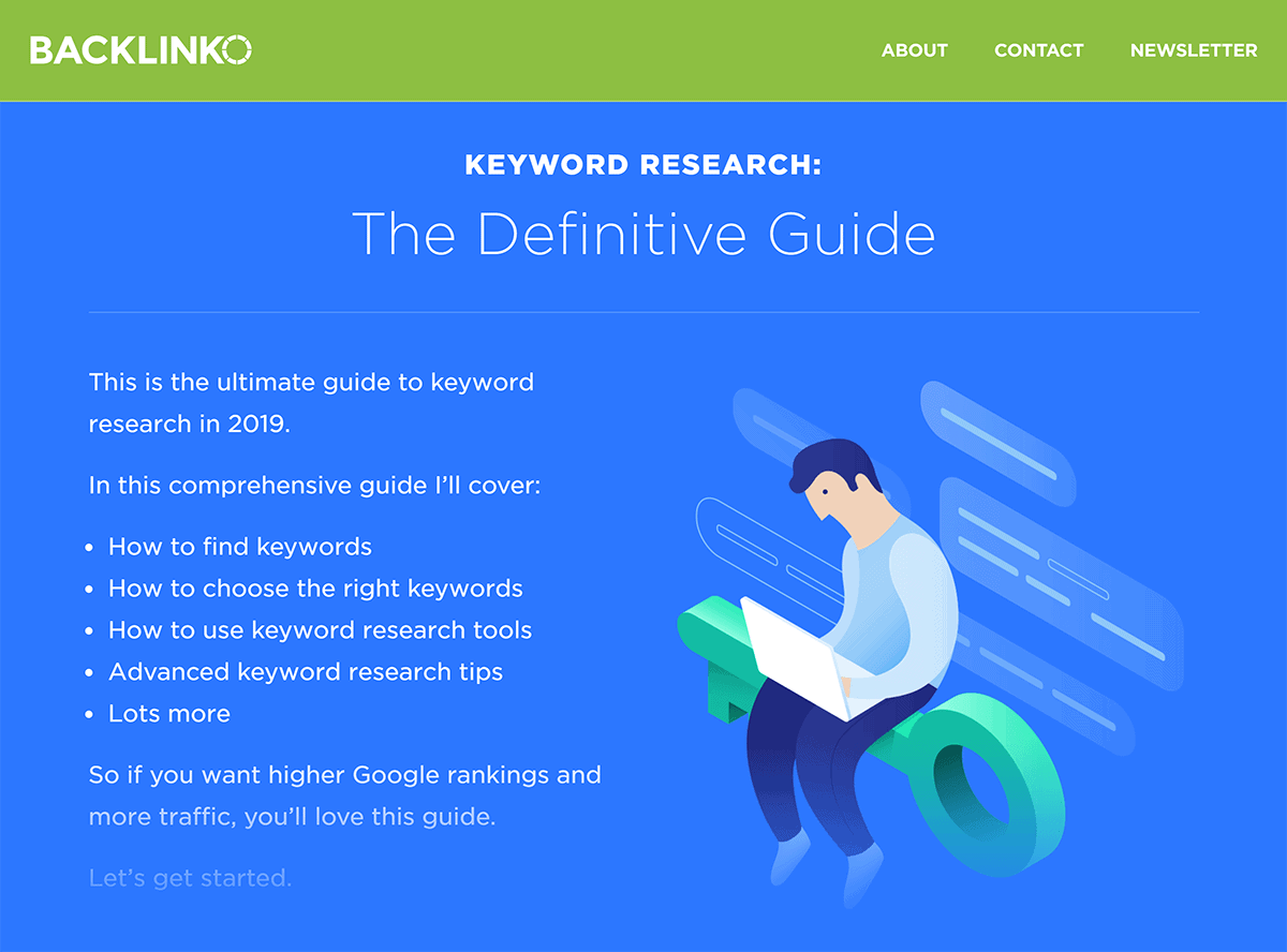 "Backlinko ""Keyword Research"" post"