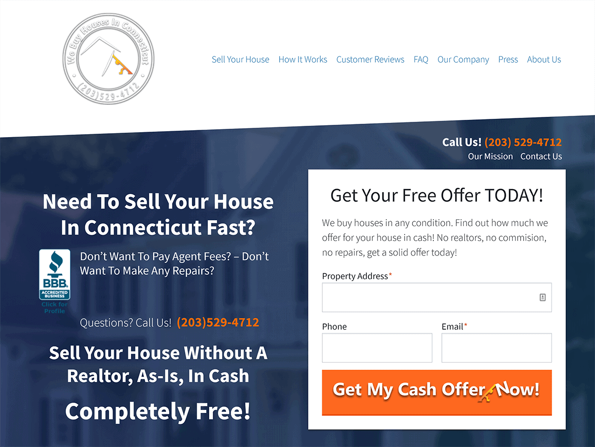 Jerryll Noorden – We Buy Houses In Connecticut – Homepage