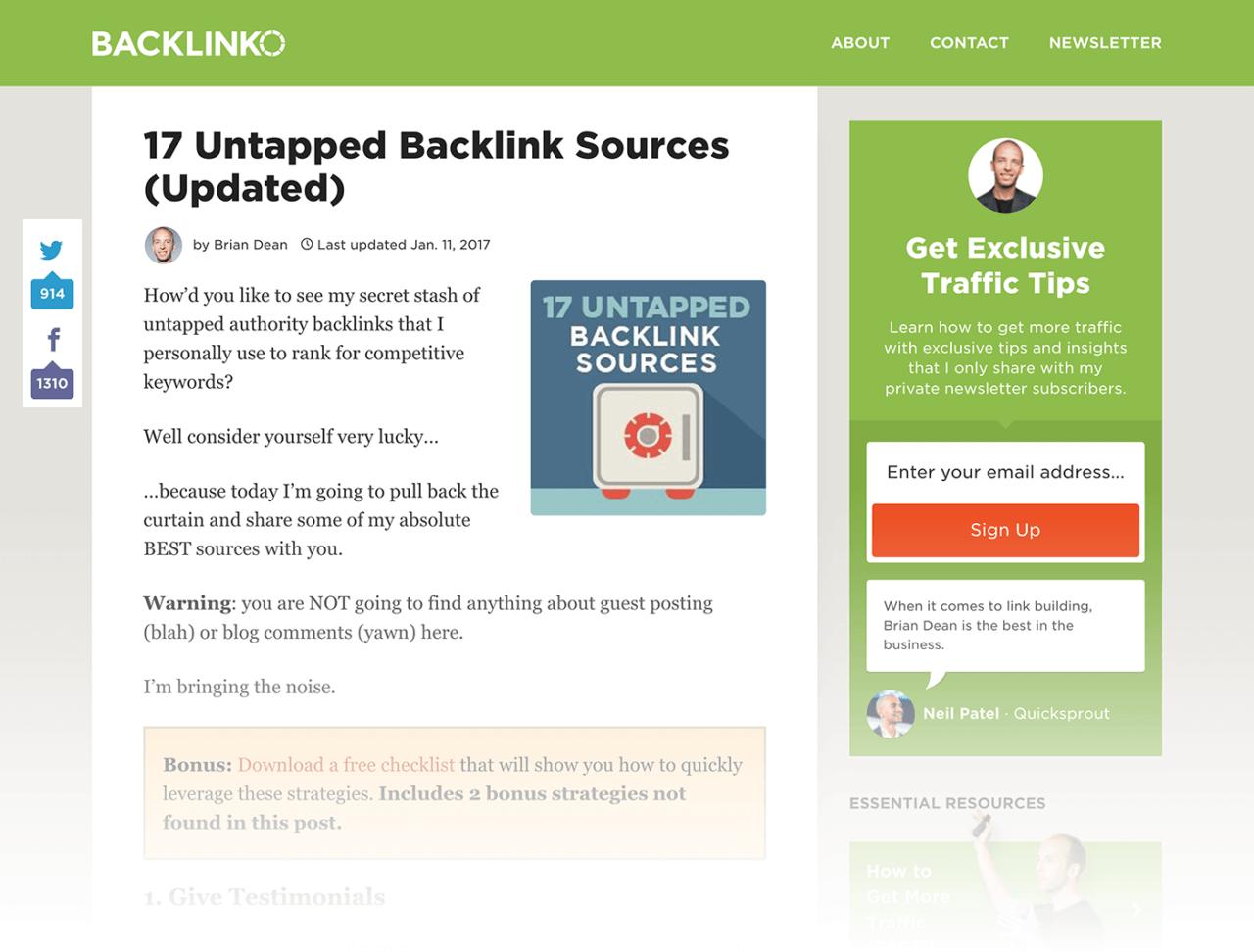 17 Untapped Backlink Sources
