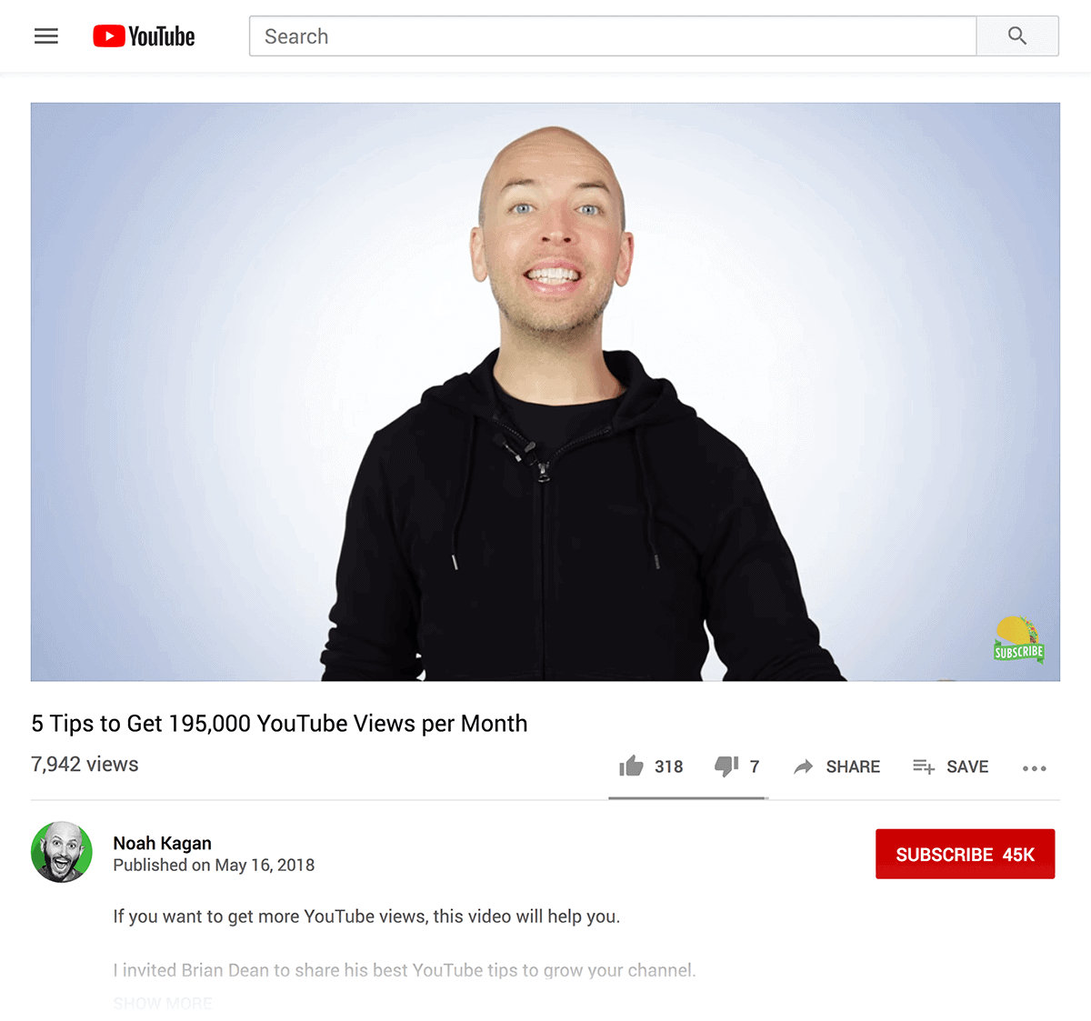 Noah Kagan guest video