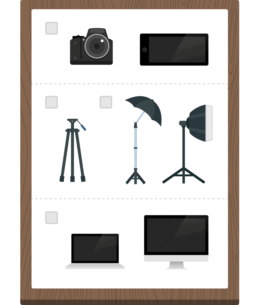 Video Equipment Checklist