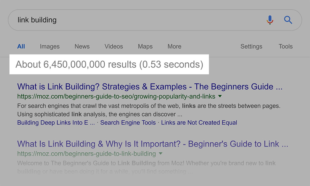 """Google search – """"link building"""""""
