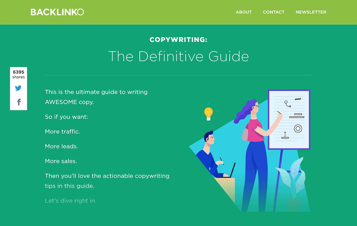 Backlinko – Copywriting Guide