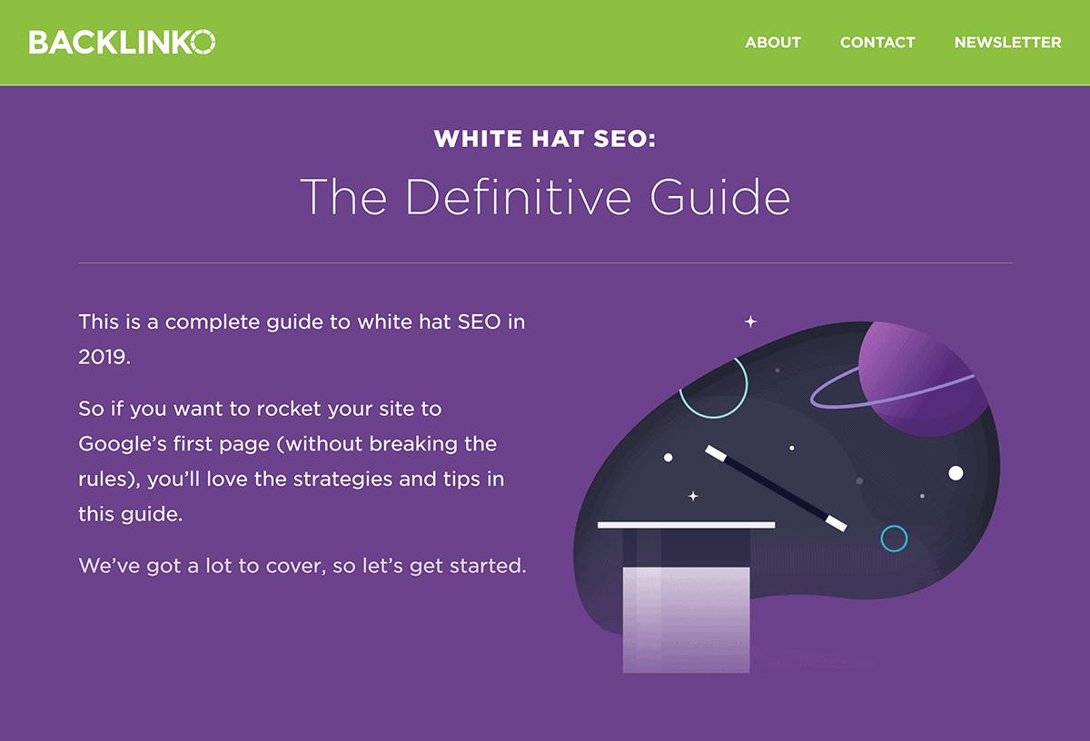 Backlinko – White Hat SEO Guide