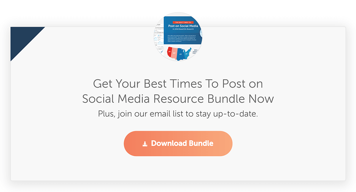 CoSchedule – Best times to post on social media