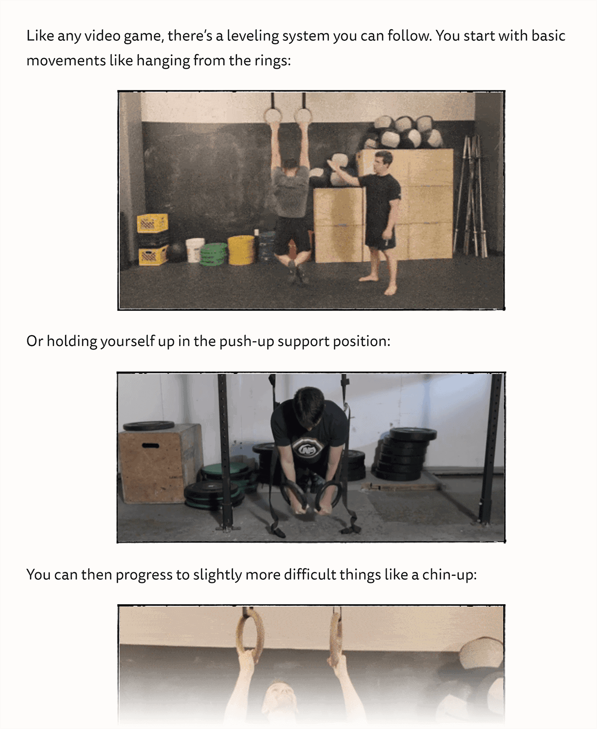 NerdFitness – How to exercise