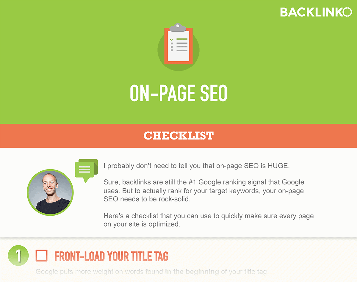 On-page SEO – Bonus download content