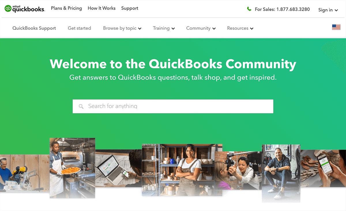 QuickBooks – Community forum