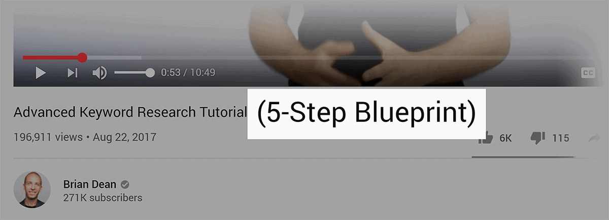 5-Step Blueprint in video title