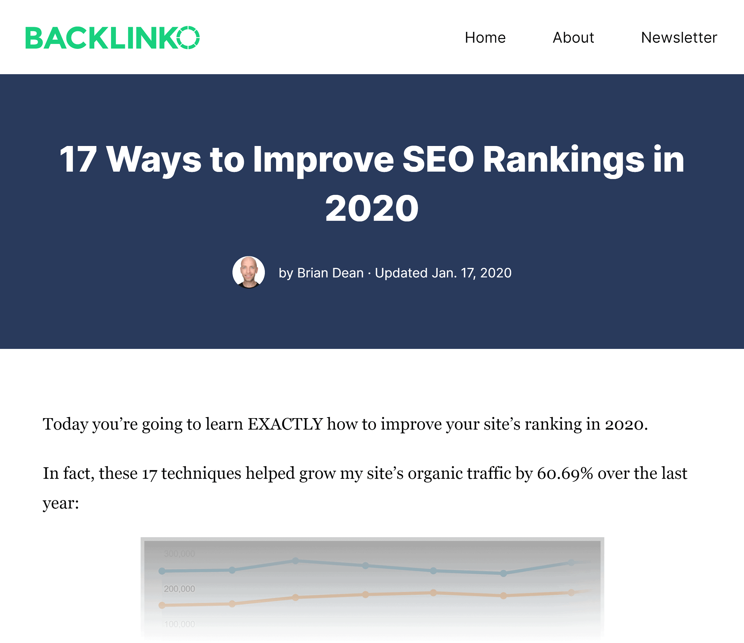 Backlinko – Improve Your SEO post