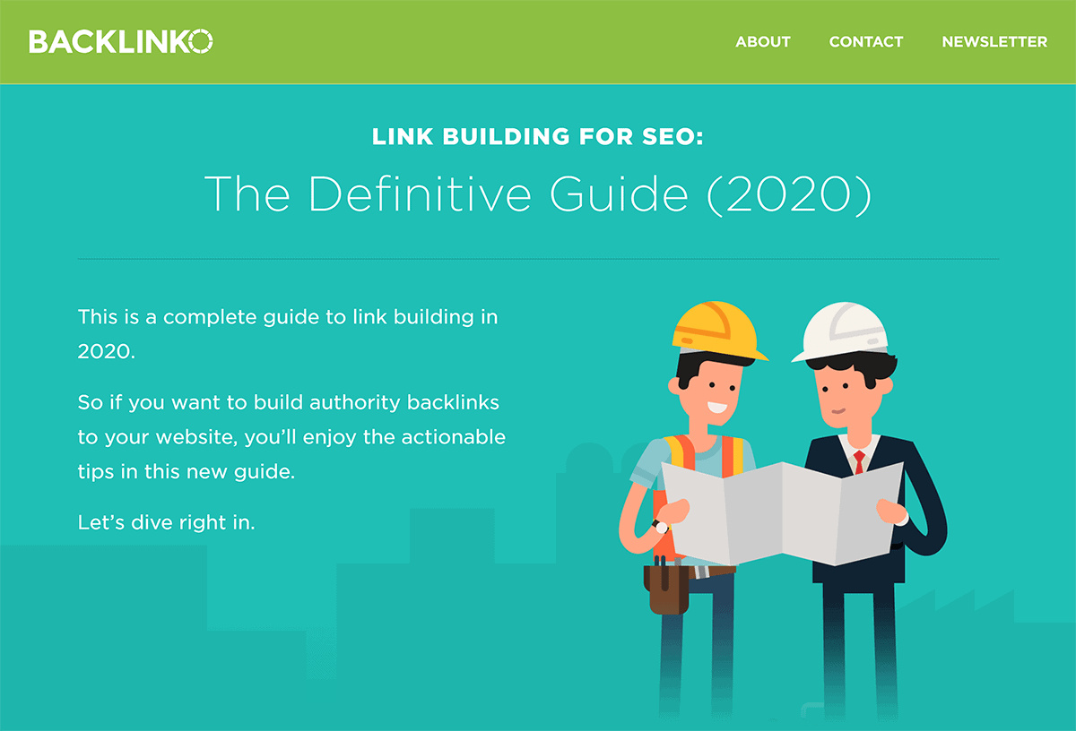 Backlinko – Link Building Guide