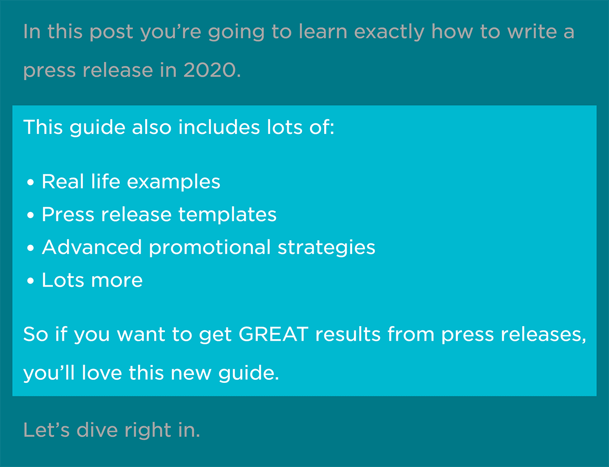Blog post intro – Benefits