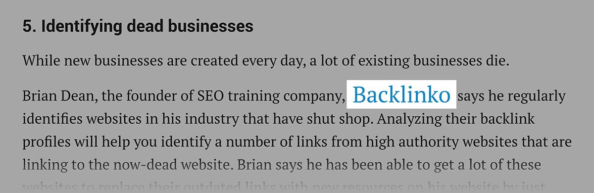 Entrepreneur – Backlink from HARO