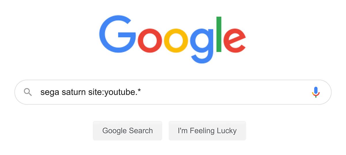 "Google search – ""sega saturn"""