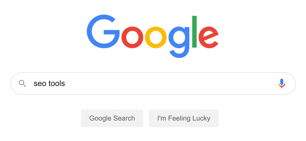 "Google search – ""seo tools"""