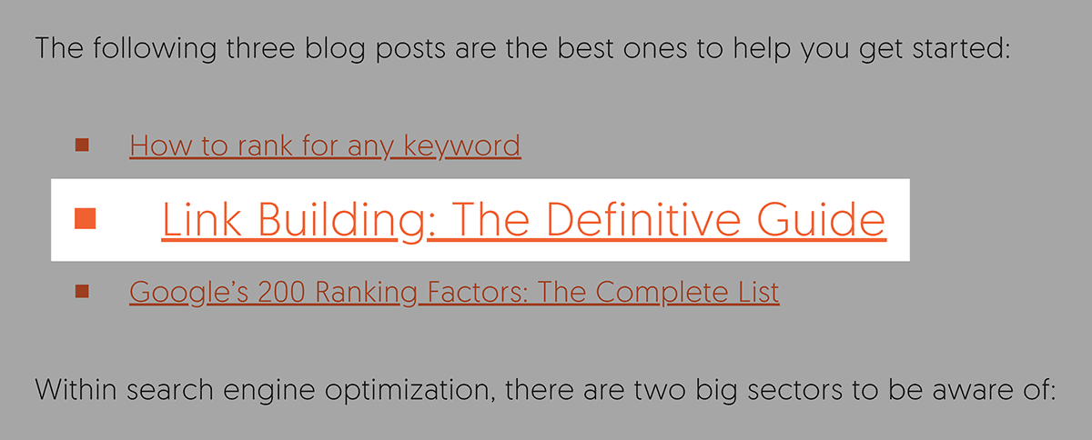 Link Building Guide – Backlink