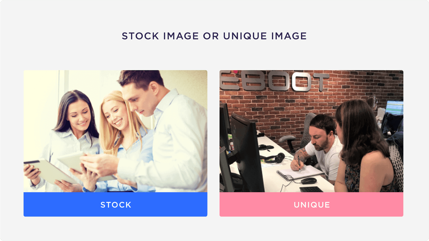Stock image or unique image