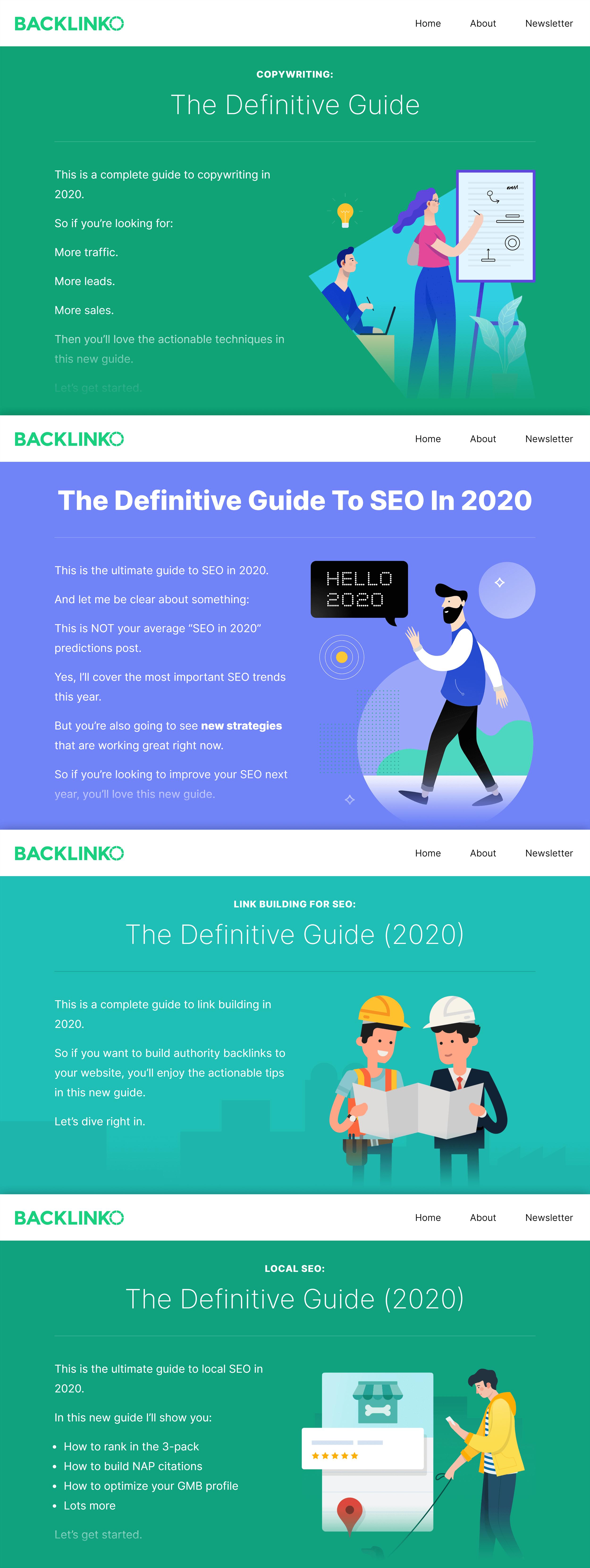 Backlinko – Definitive guides