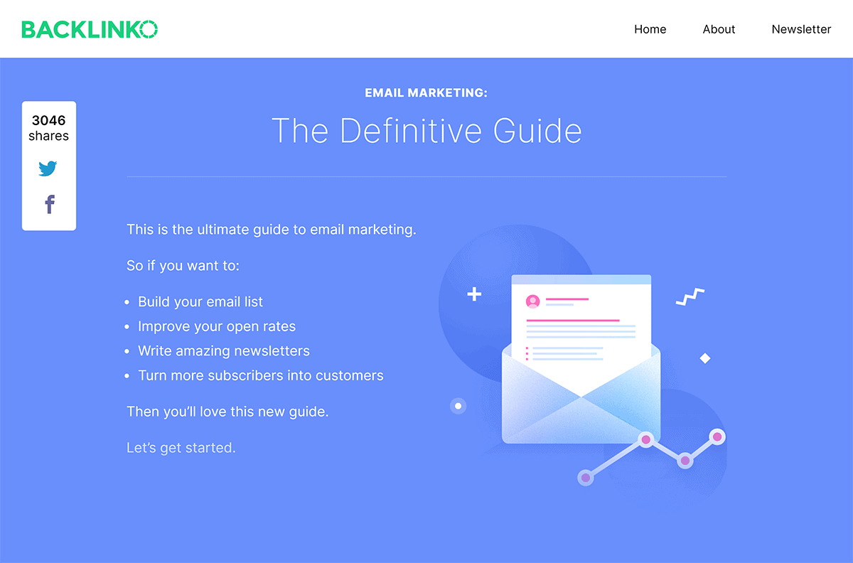 Backlinko – Email Marketing Guide