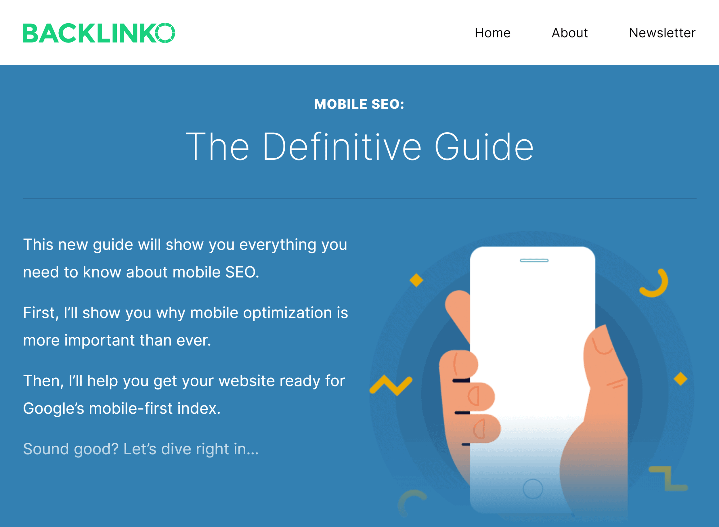 Backlinko – Mobile SEO Guide