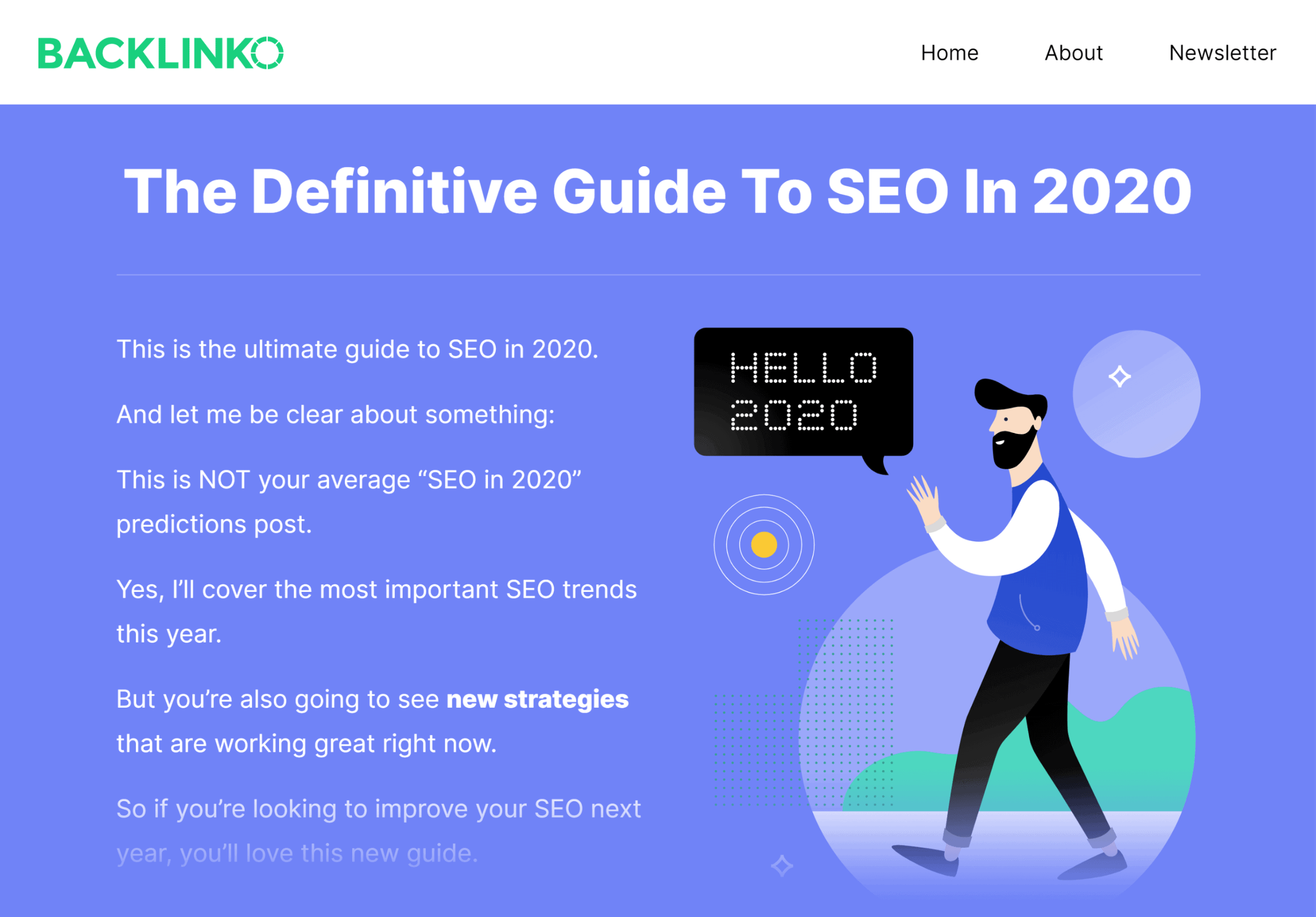 Backlinko – SEO this year guide