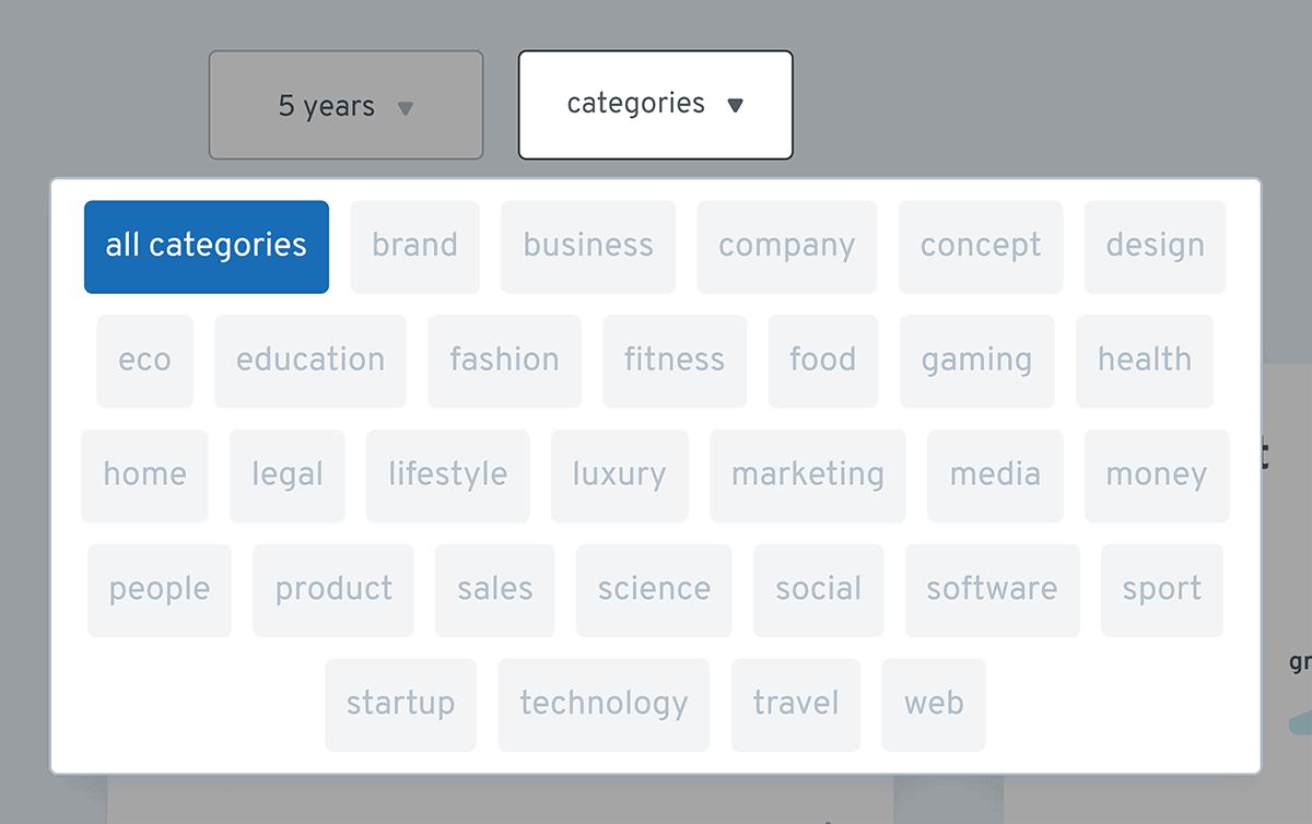 Exploding Topics – Categories