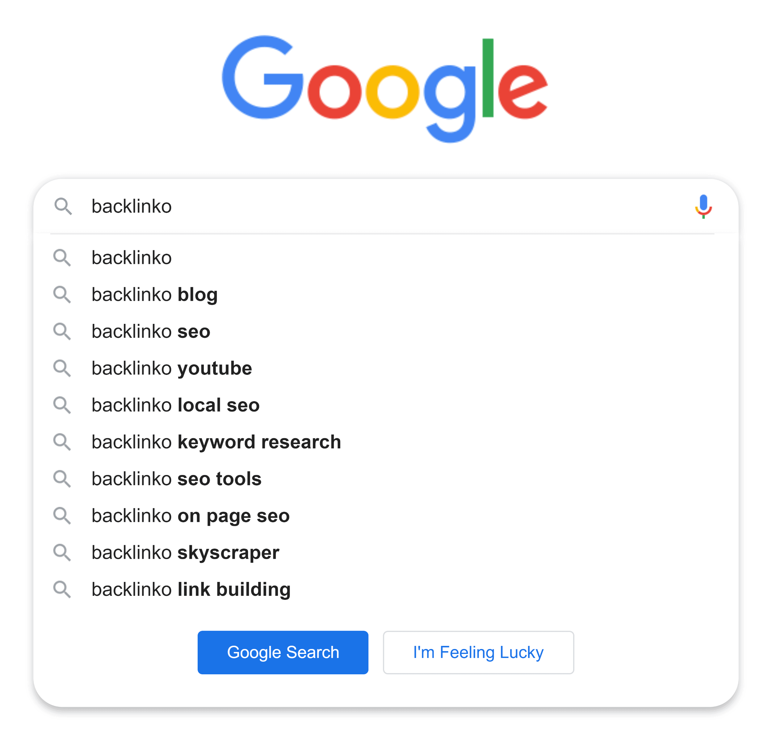 Google suggest – Backlinko