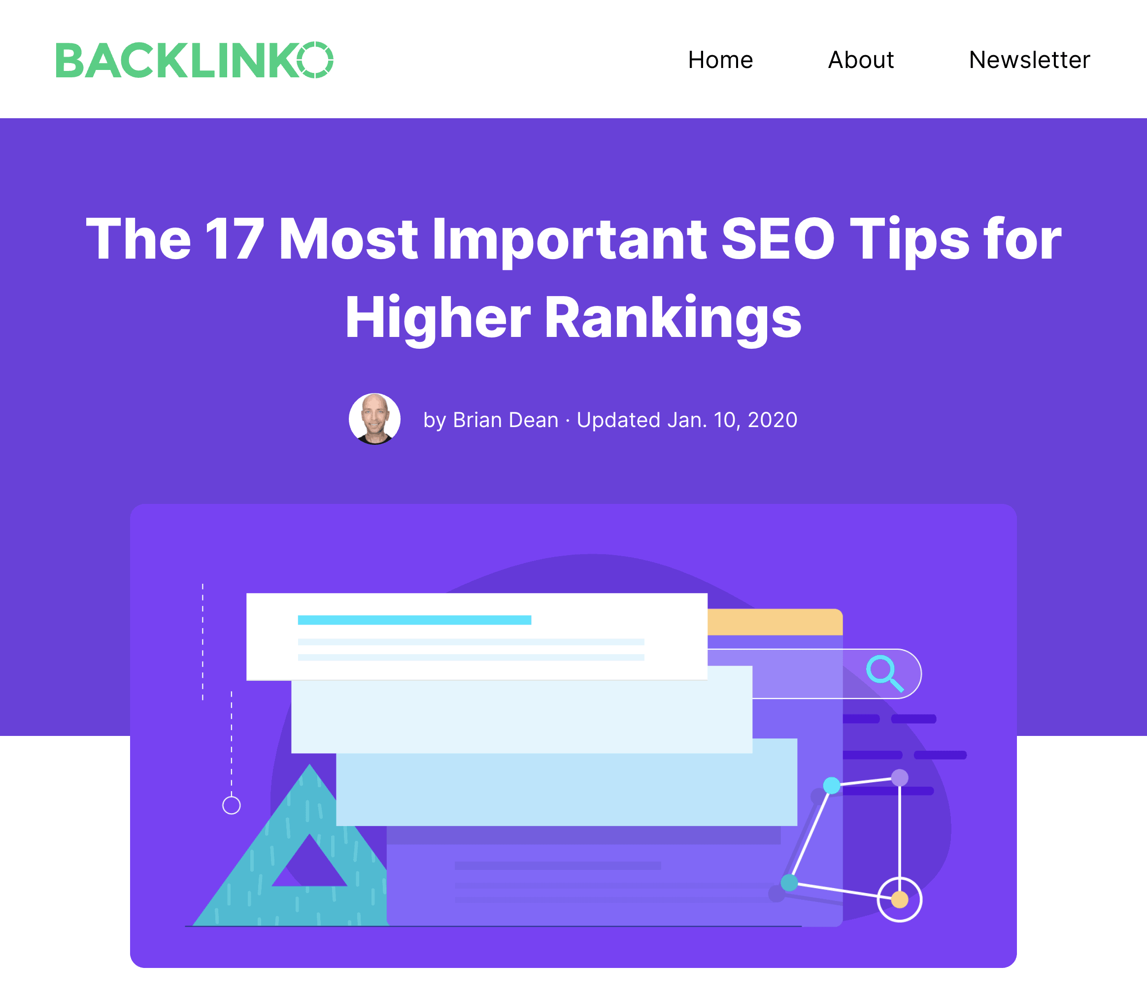 Actionable SEO Tips post
