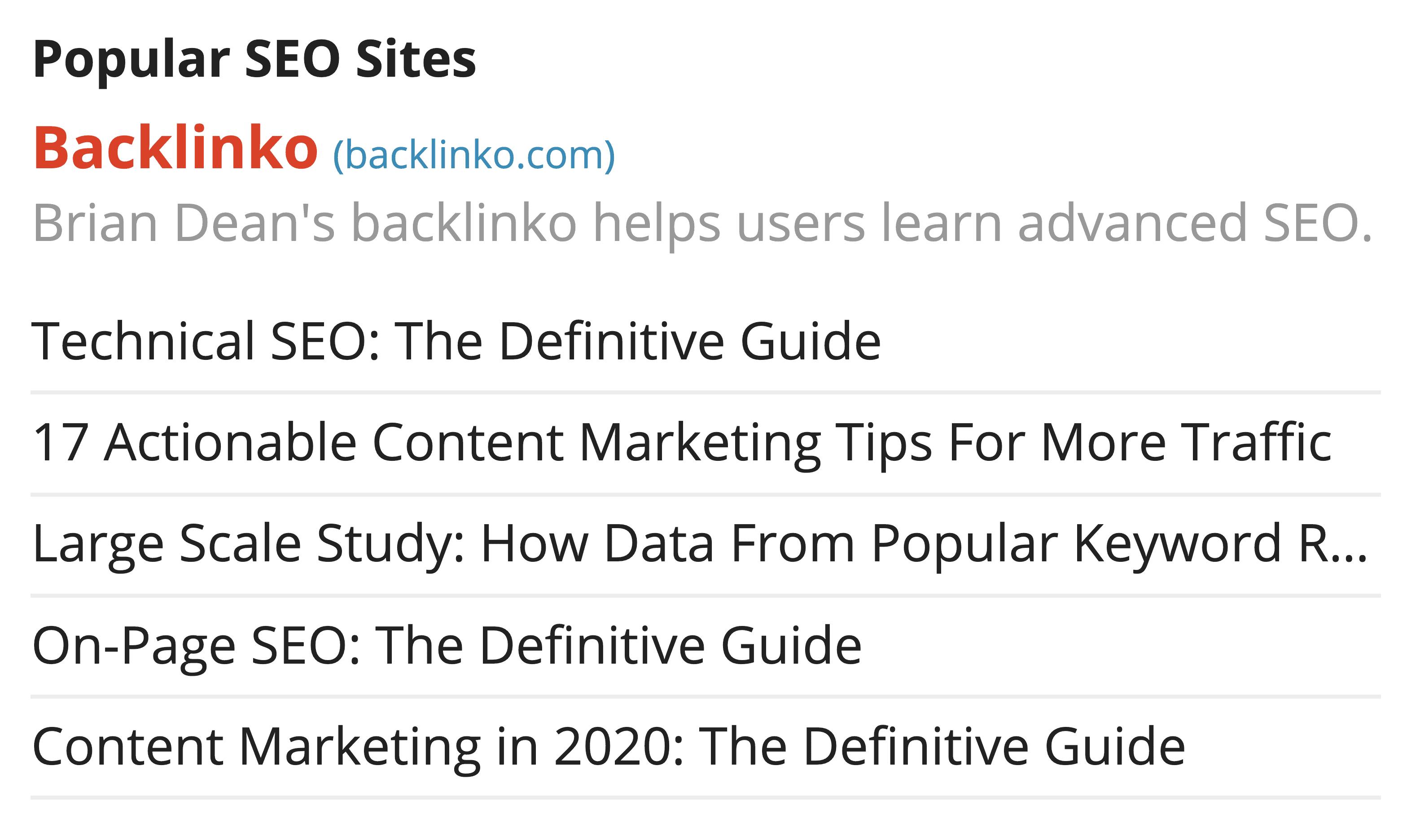Backlinko on blog directories