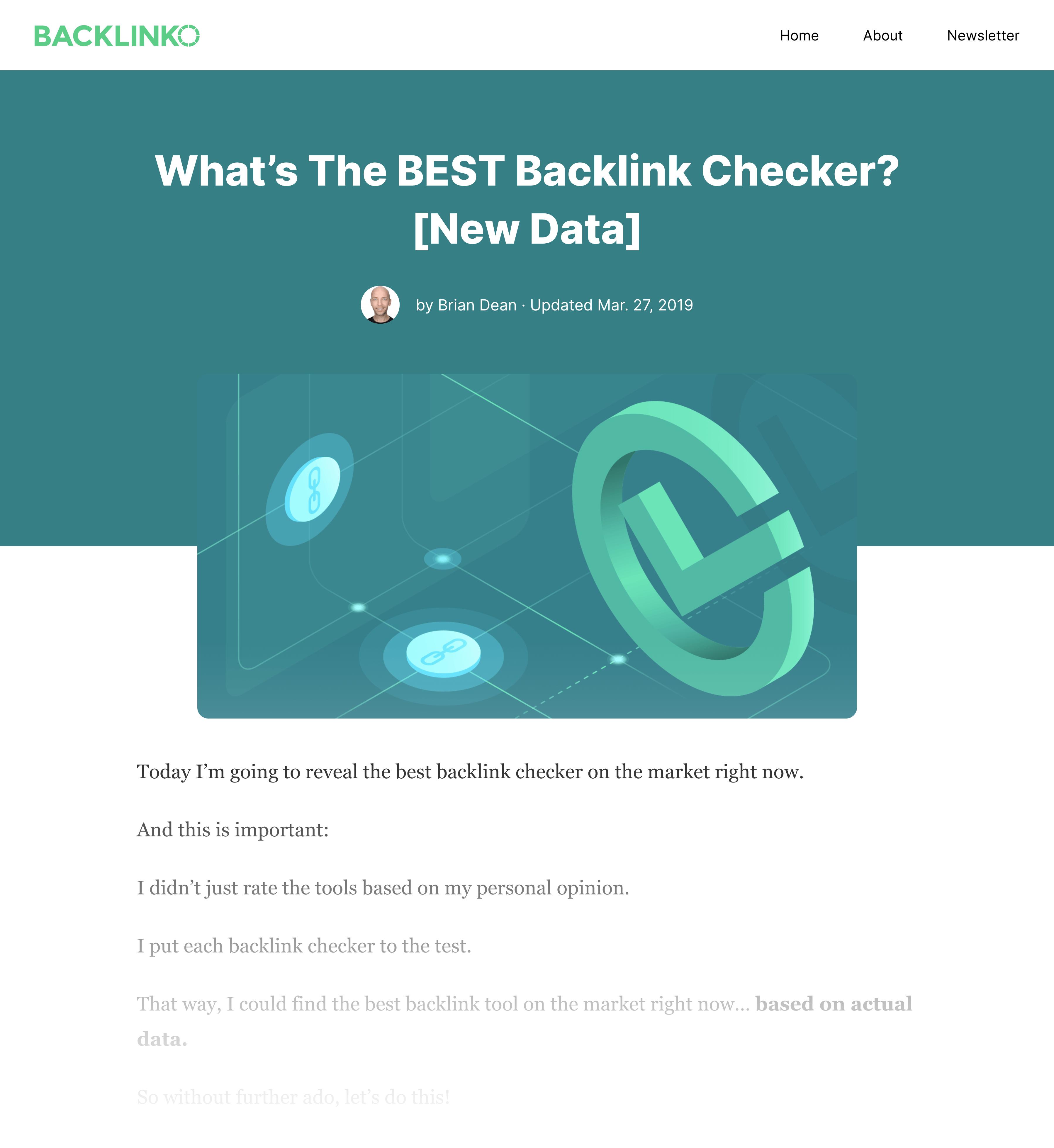 Best Backlink Checker Post