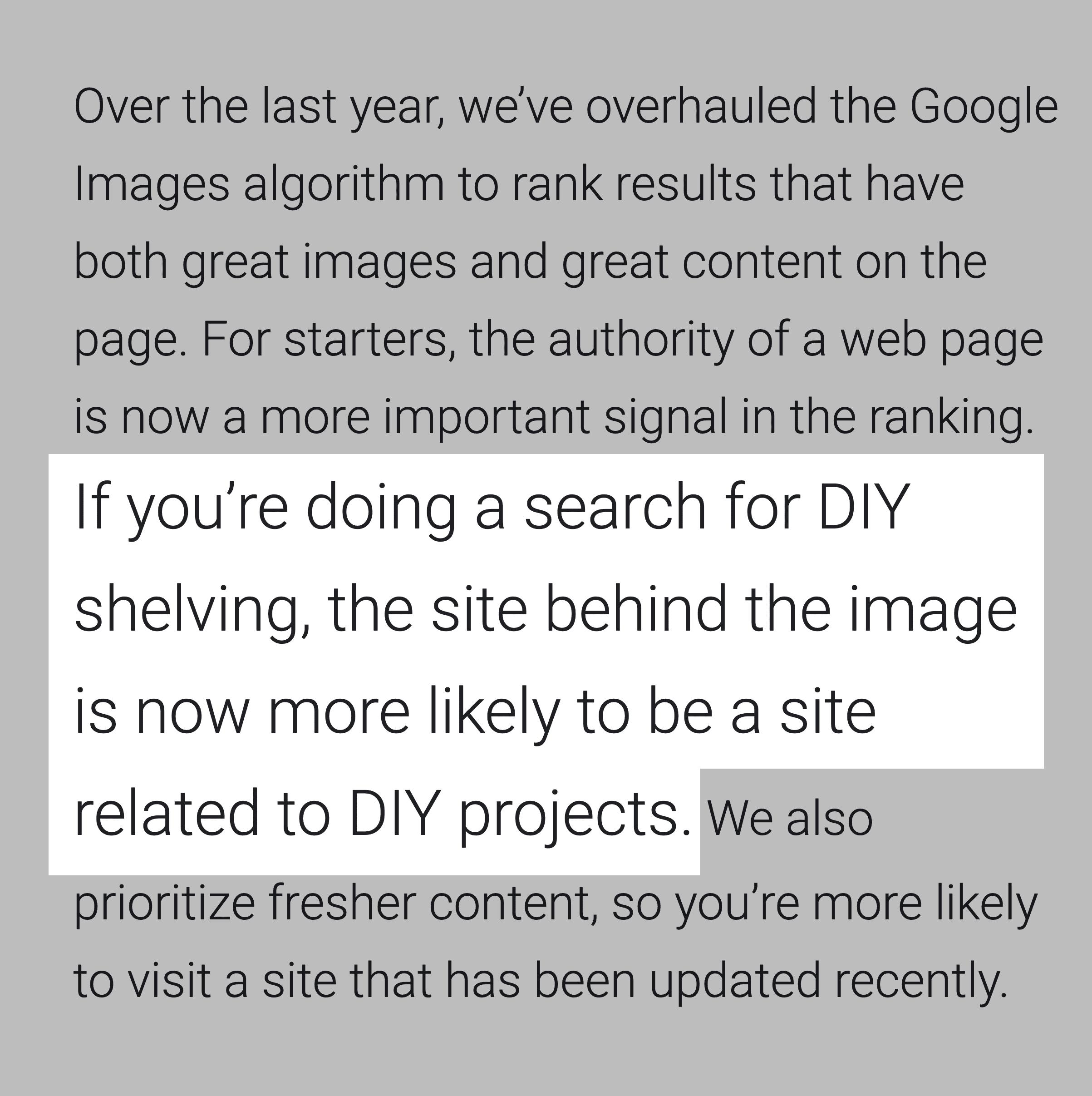 Google Blog – DIY Search
