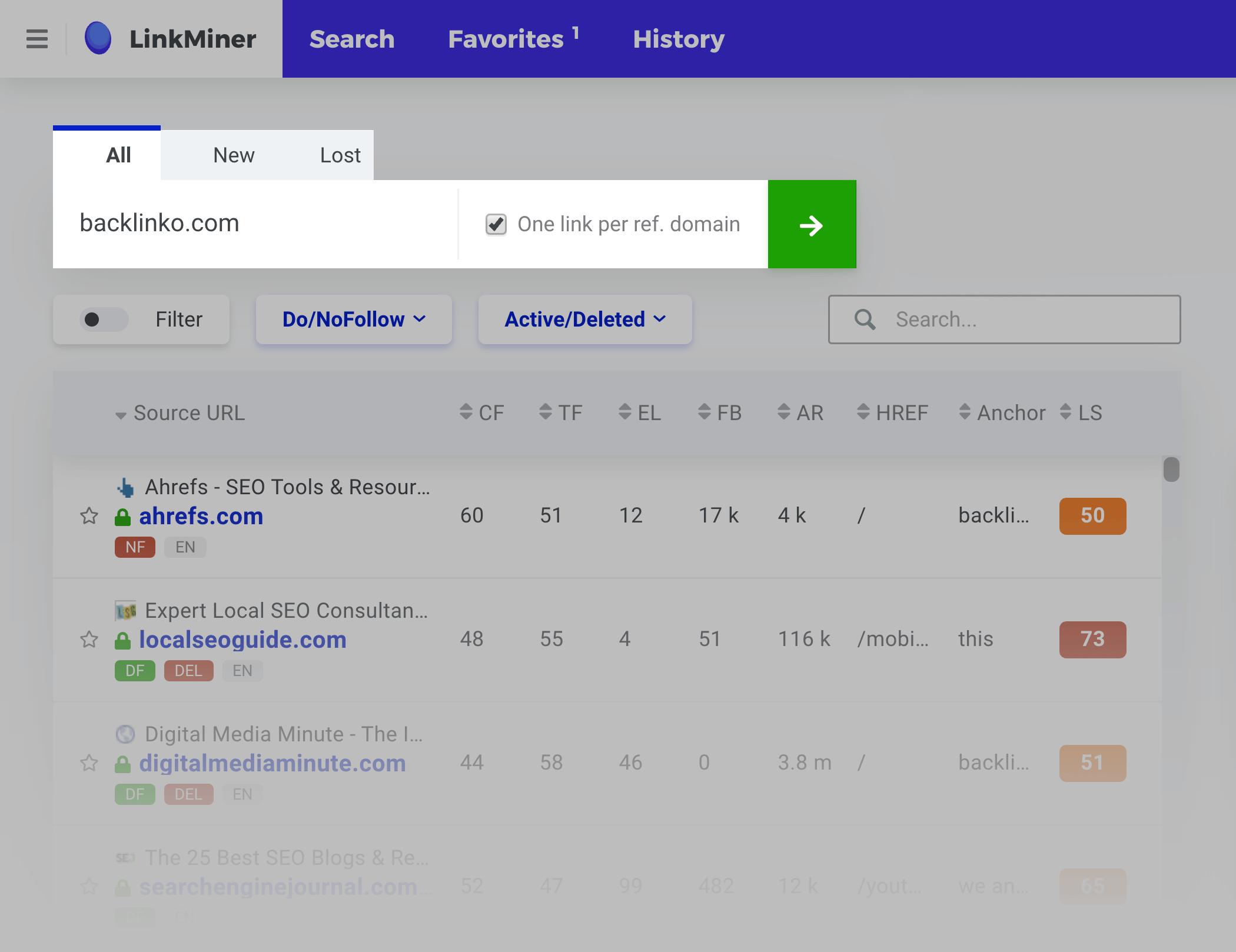 Link Miner – Search Backlinko