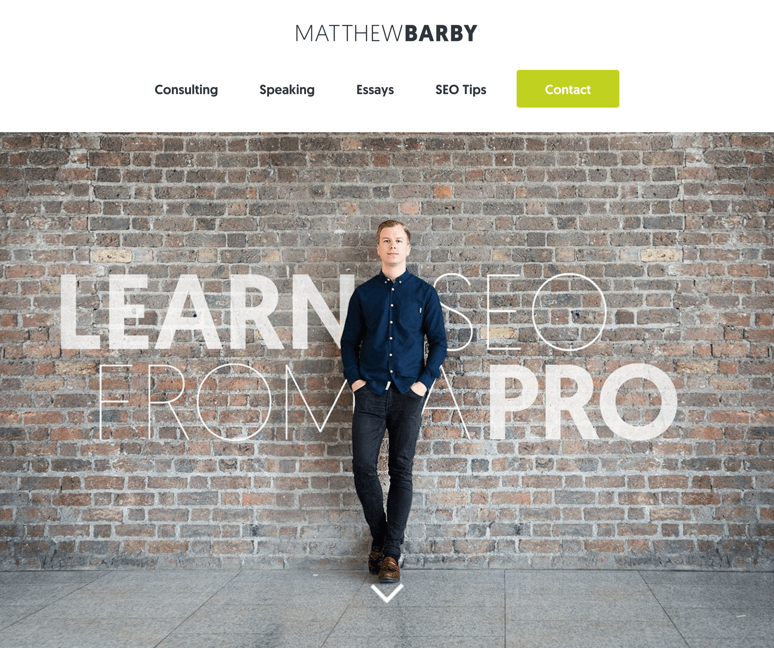 Matthew Barby Website