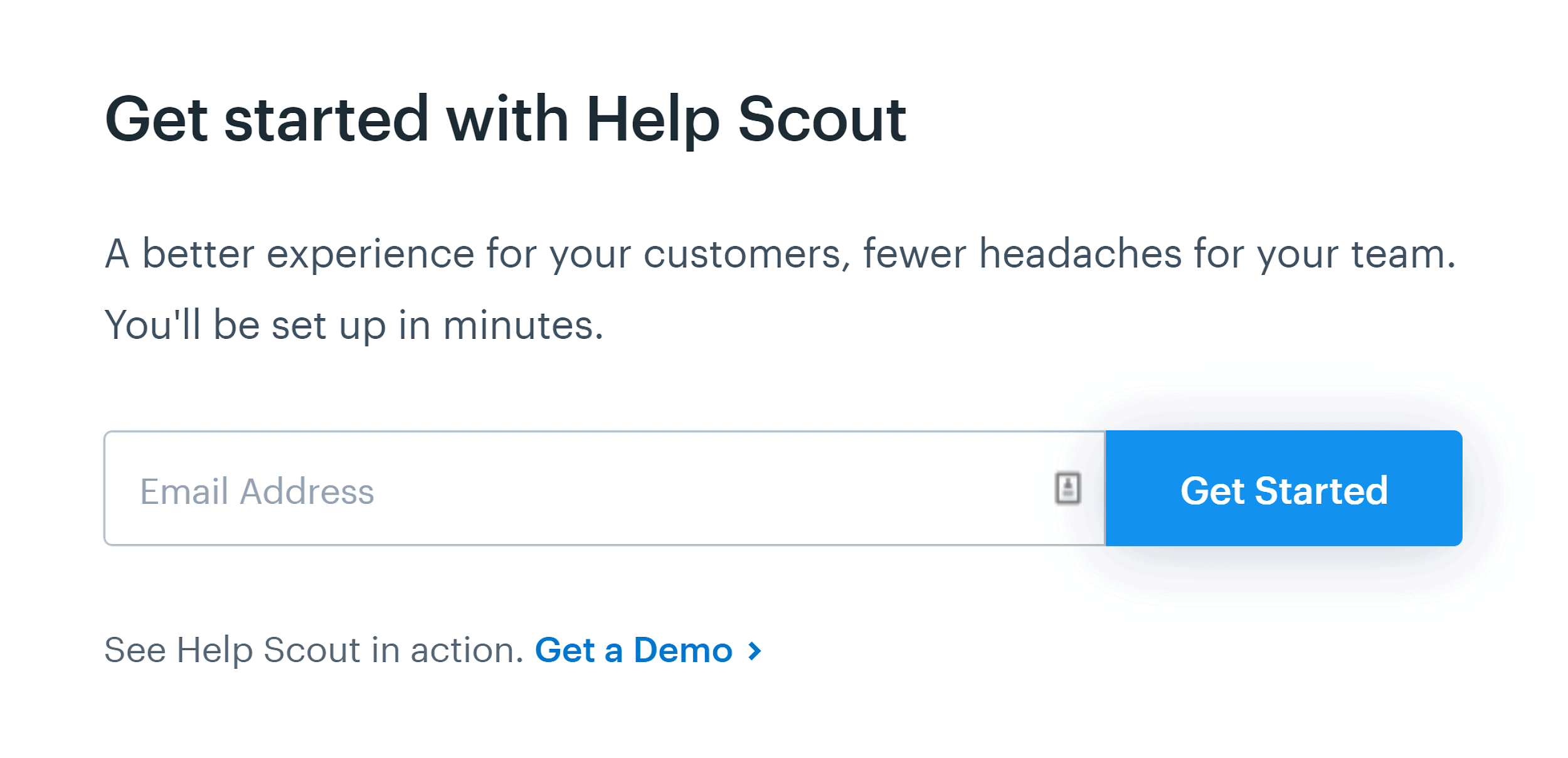 Helpscout - CTA