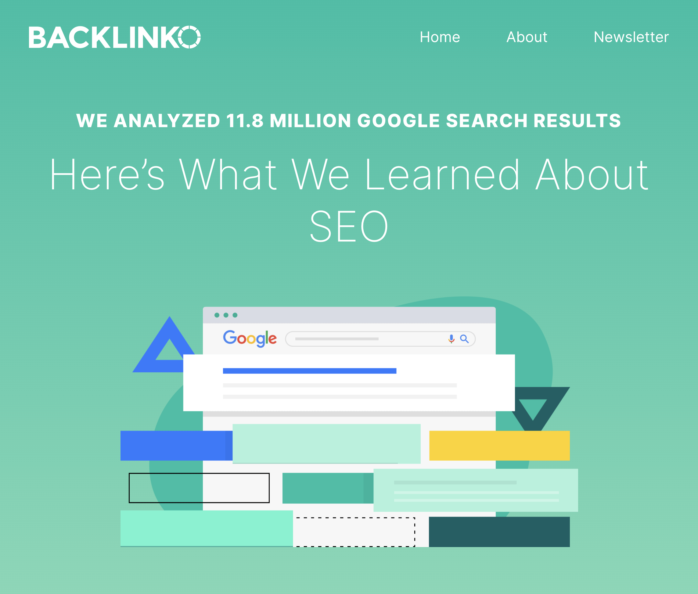 Backlinko – Search engine ranking post