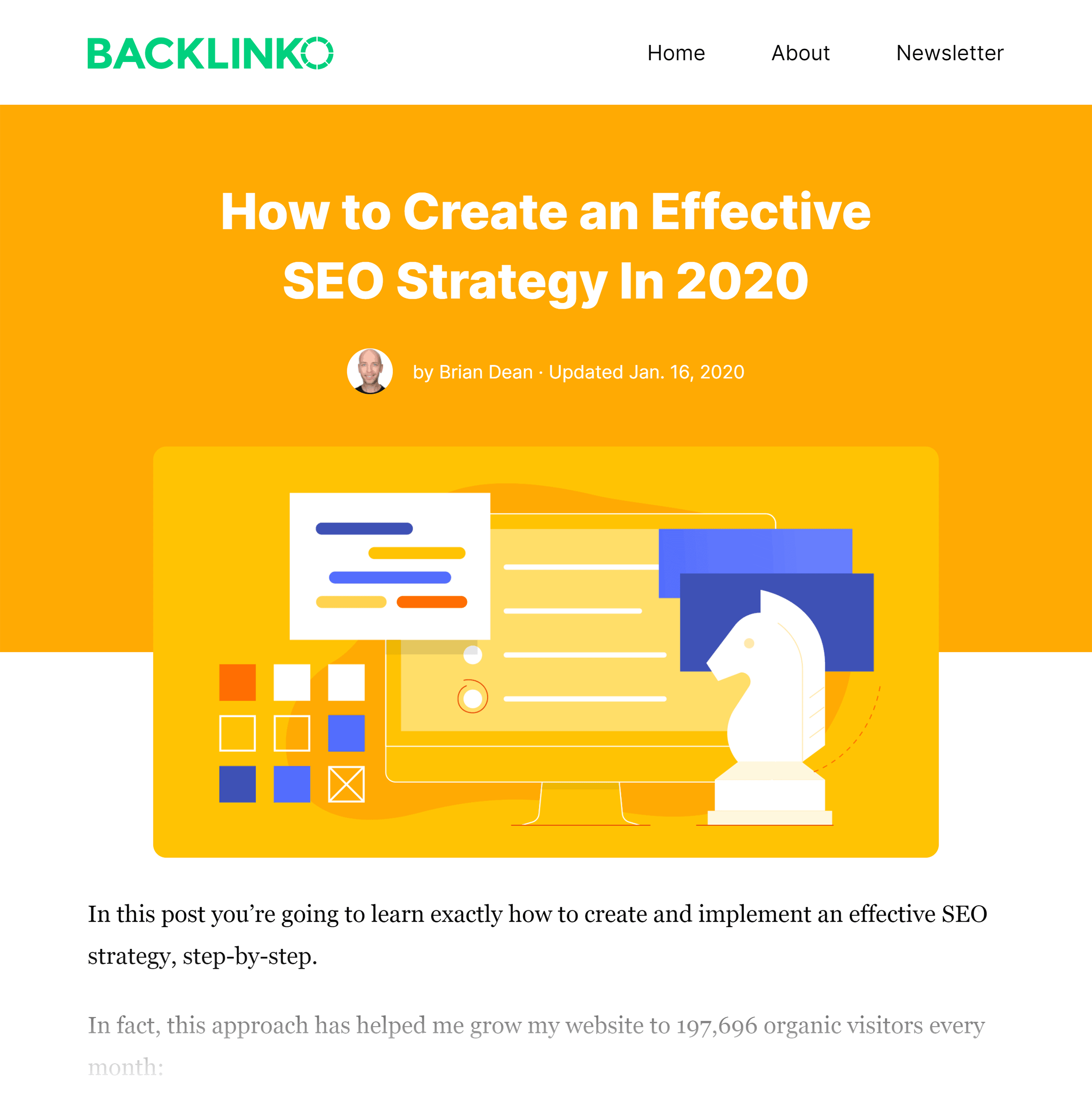 Backlinko – SEO Strategy Guide