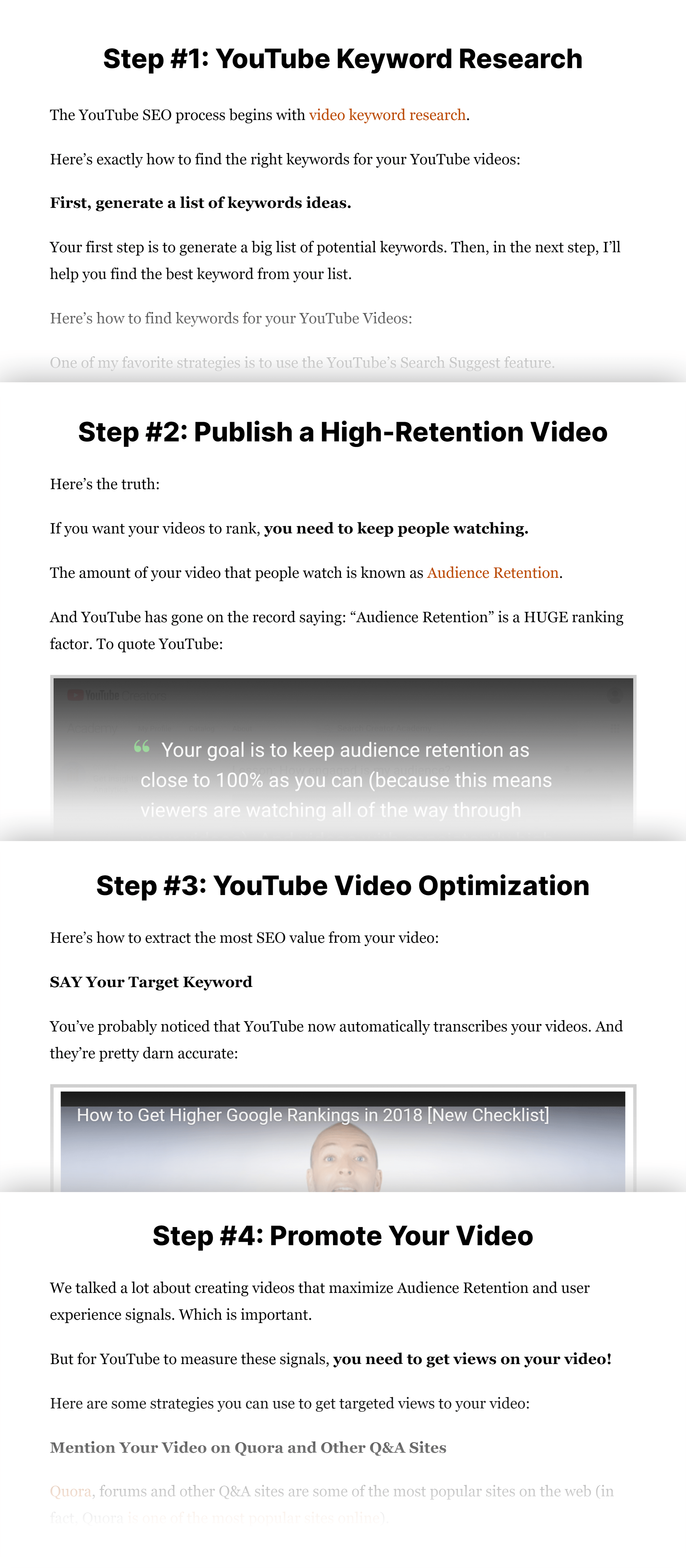 How To Rank YouTube Videos Steps