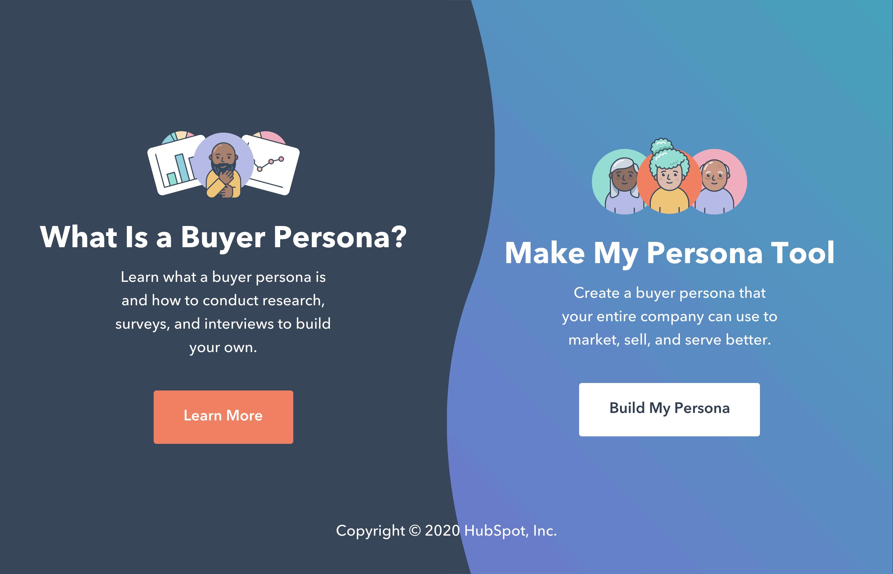 Hubspot – Make My Persona
