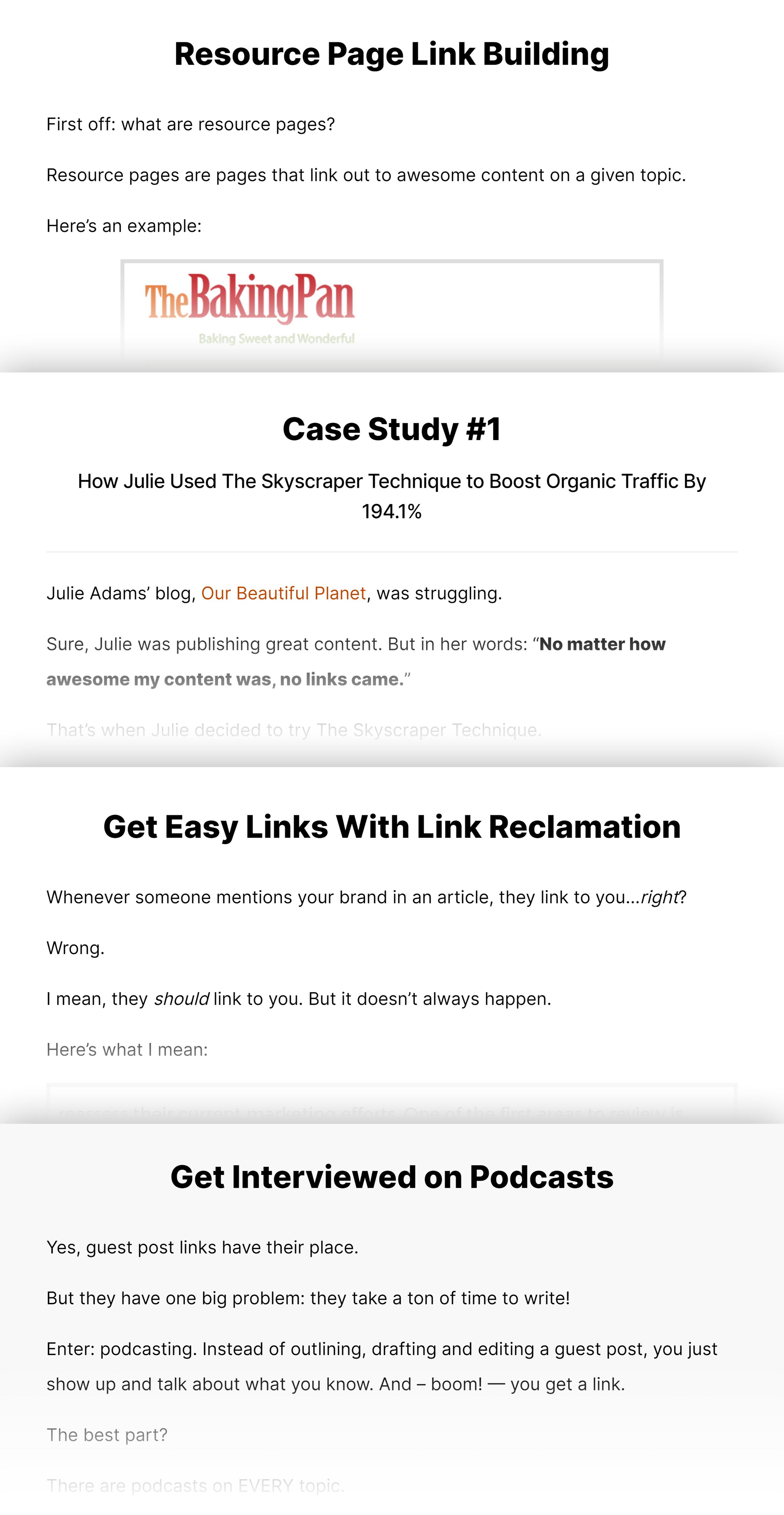Link Building Guide Strategies