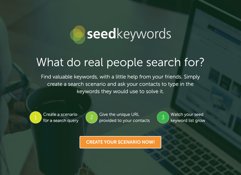 Seed Keywords – Homepage
