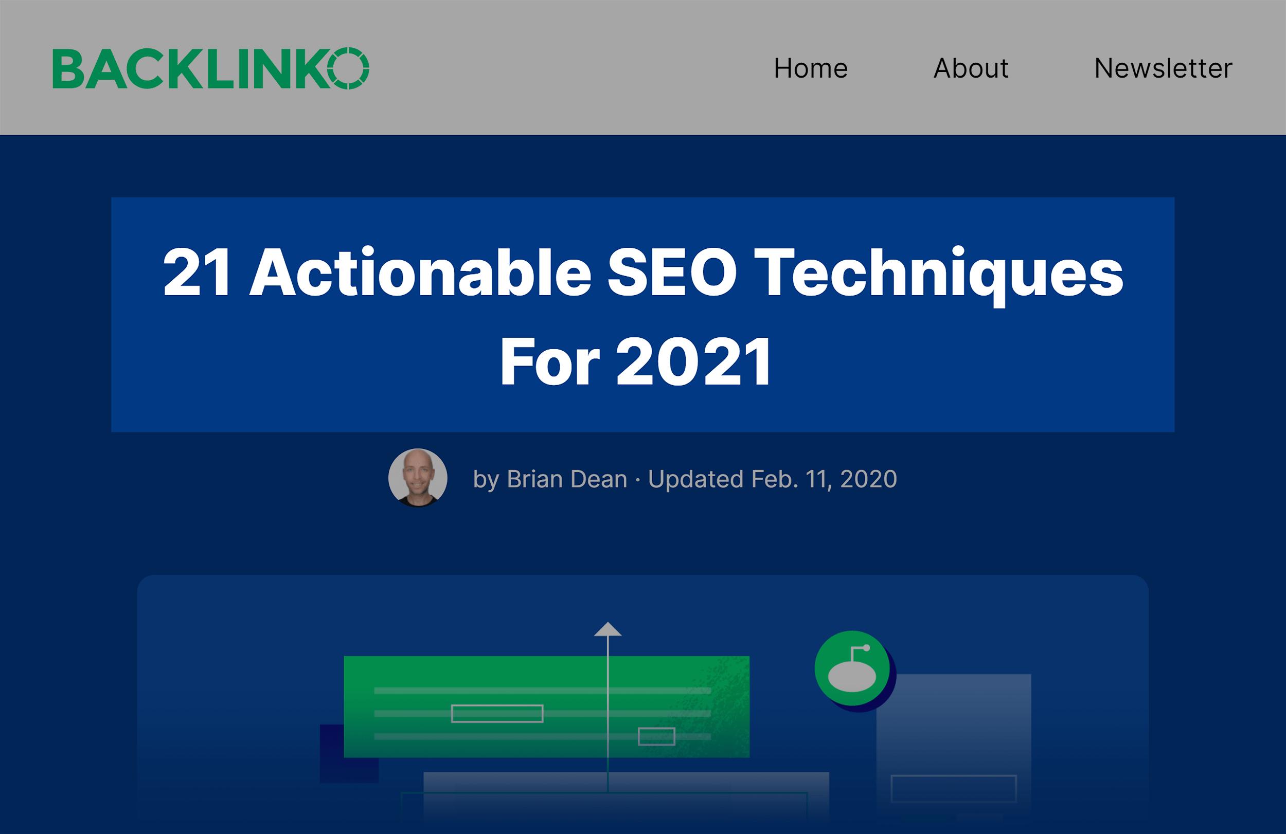 SEO Techniques Post Title